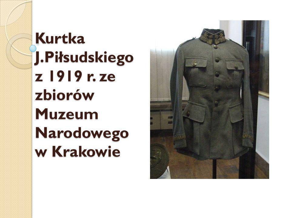 Kurtka J. Piłsudskiego z 1919 r