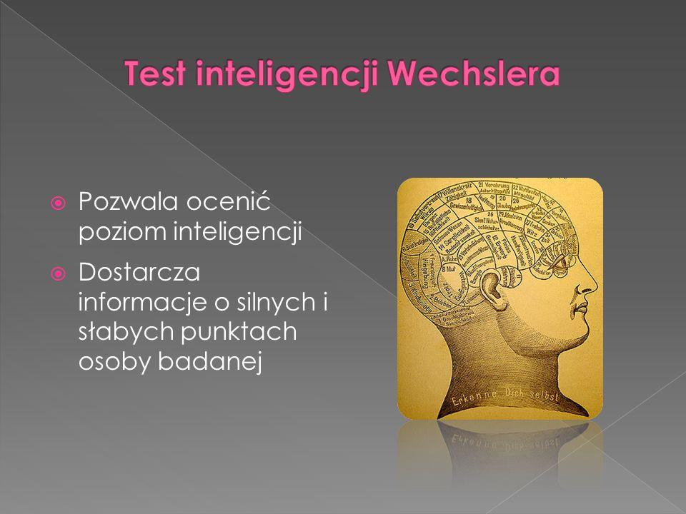 Test inteligencji Wechslera