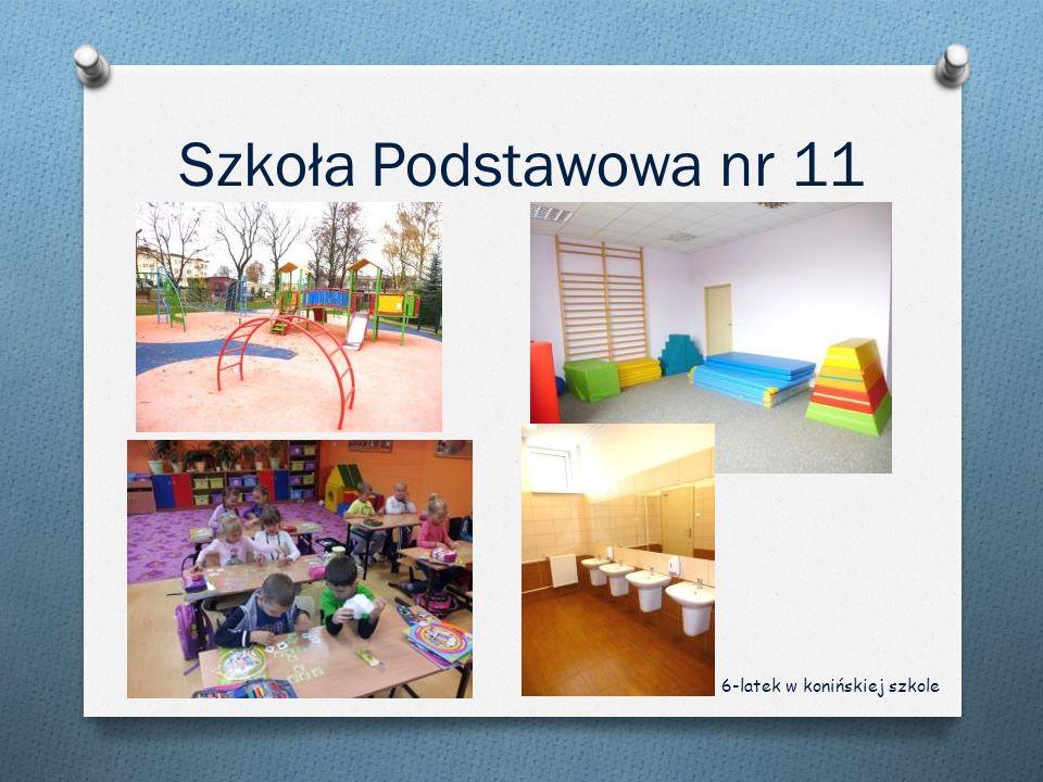 Szkoła Podstawowa nr 11 6-latek w konińskiej szkole