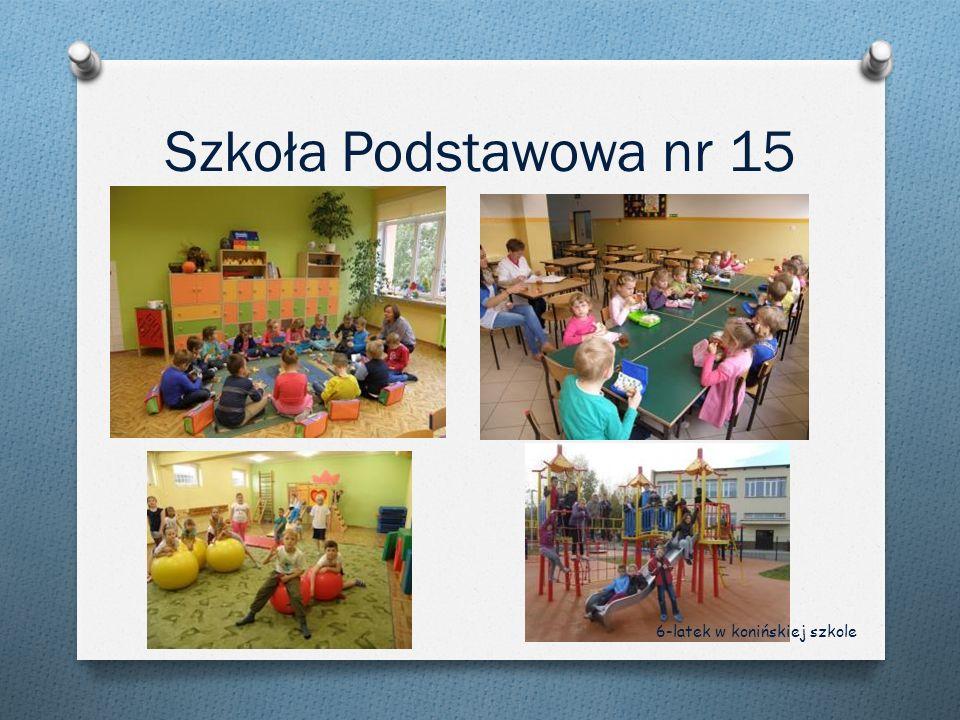 Szkoła Podstawowa nr 15 6-latek w konińskiej szkole
