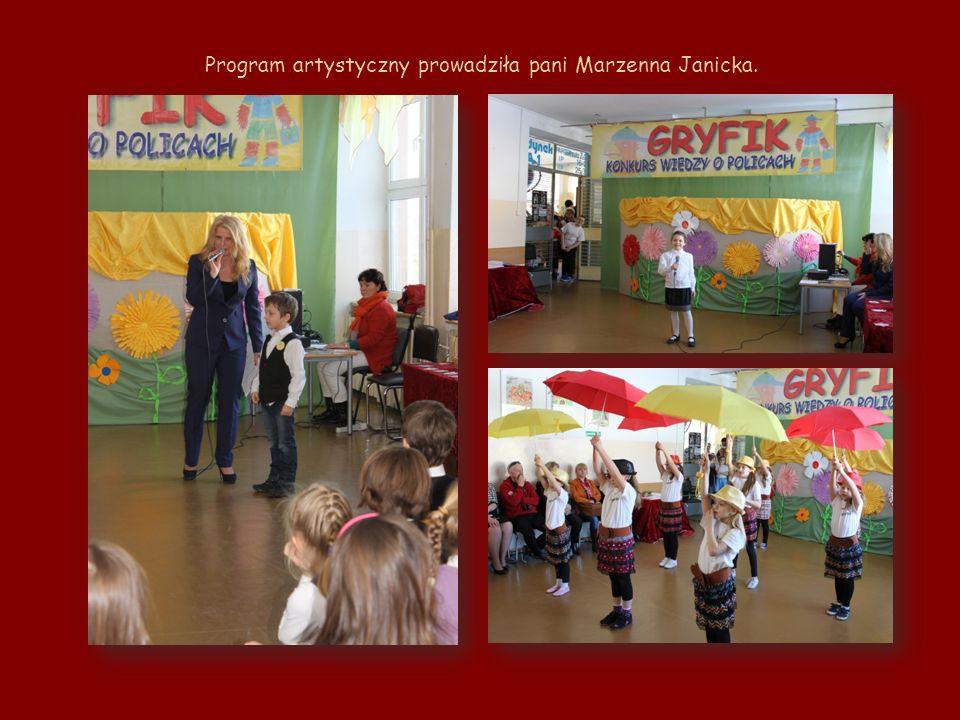 Program artystyczny prowadziła pani Marzenna Janicka.