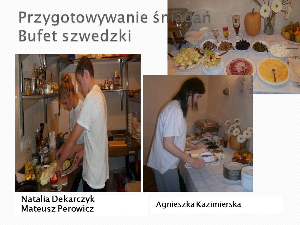 Przygotowywanie śniadań Bufet szwedzki