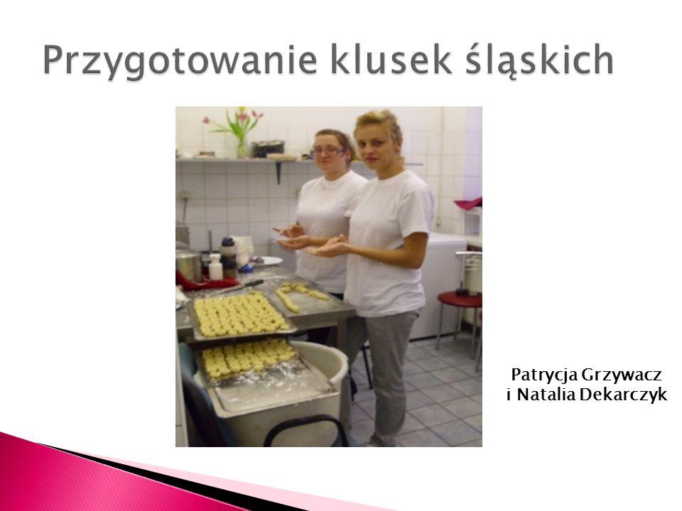 Przygotowanie klusek śląskich