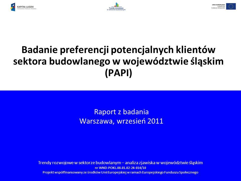 Raport z badania Warszawa, wrzesień 2011
