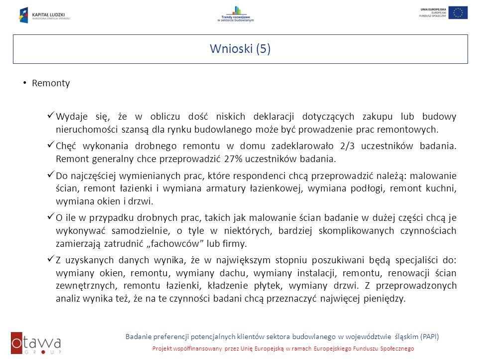 Wnioski (5) Remonty.