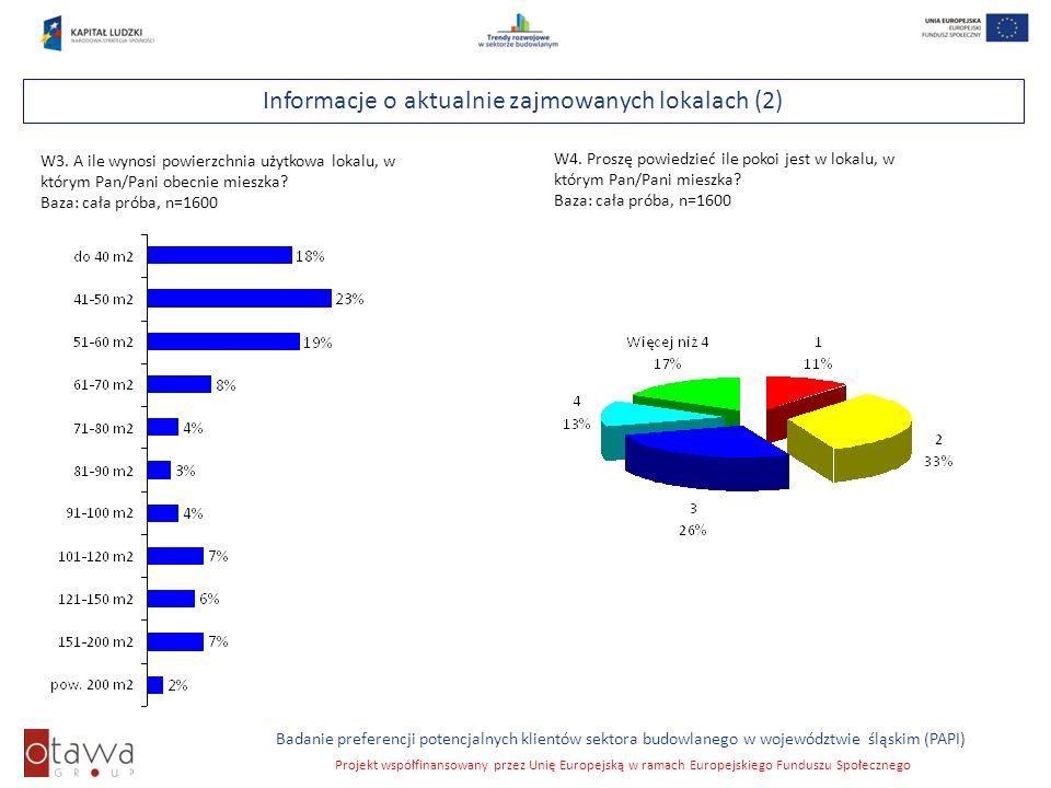 Informacje o aktualnie zajmowanych lokalach (2)
