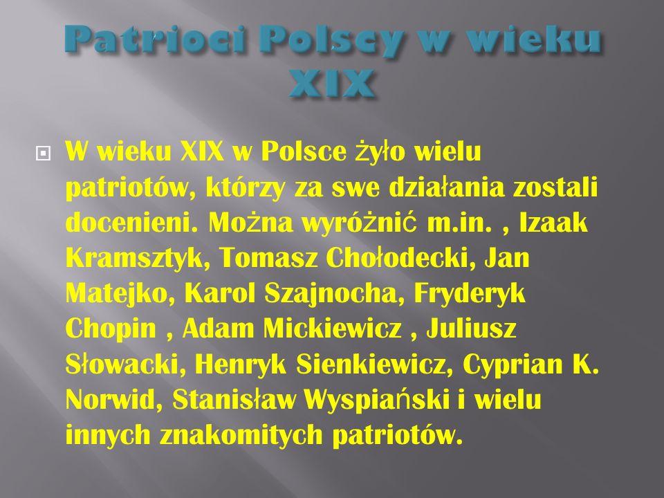 Patrioci Polscy w wieku XIX