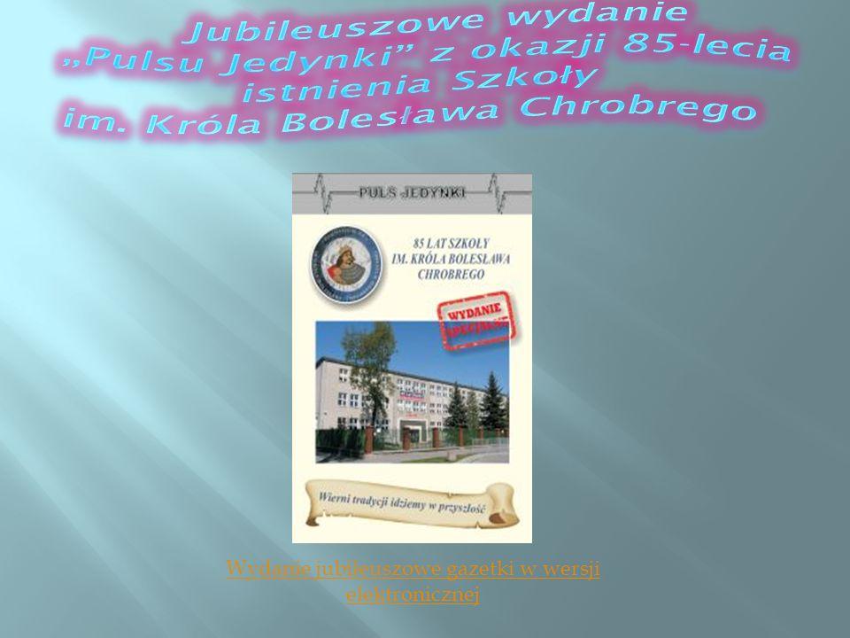Wydanie jubileuszowe gazetki w wersji elektronicznej
