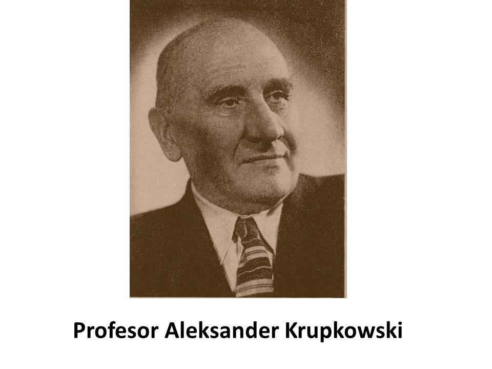 Profesor Aleksander Krupkowski