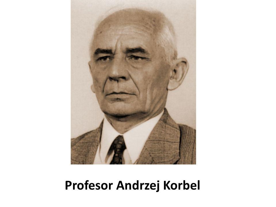 Profesor Andrzej Korbel