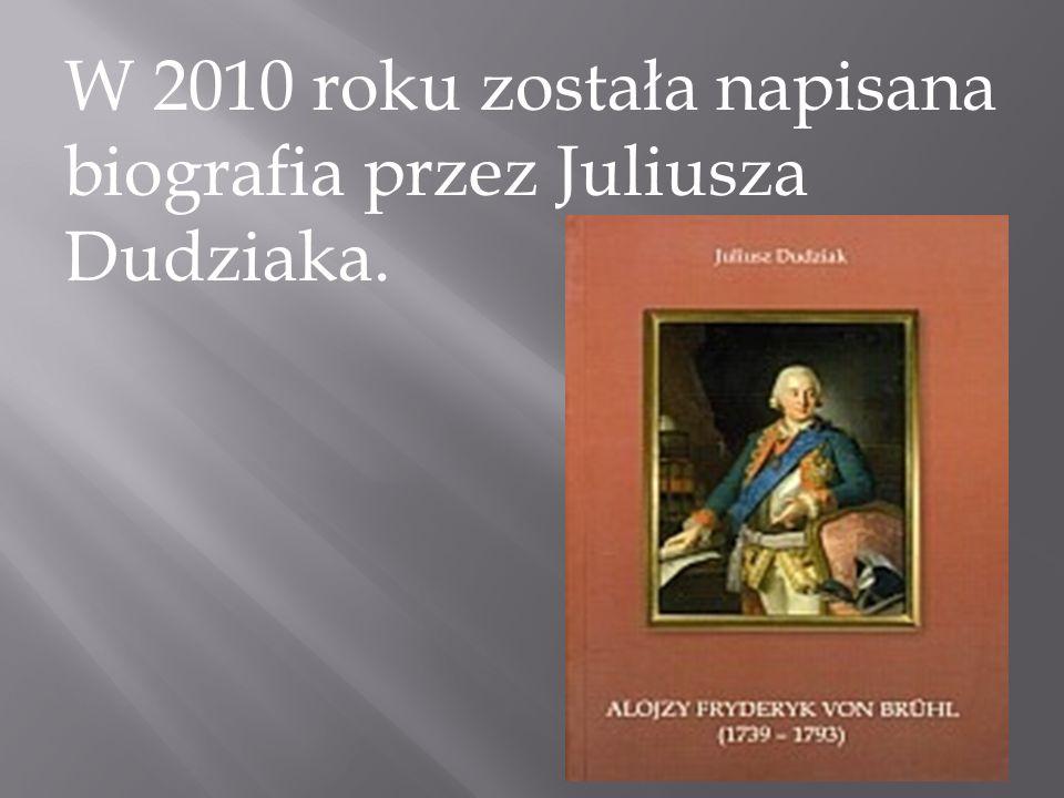 W 2010 roku została napisana biografia przez Juliusza Dudziaka.