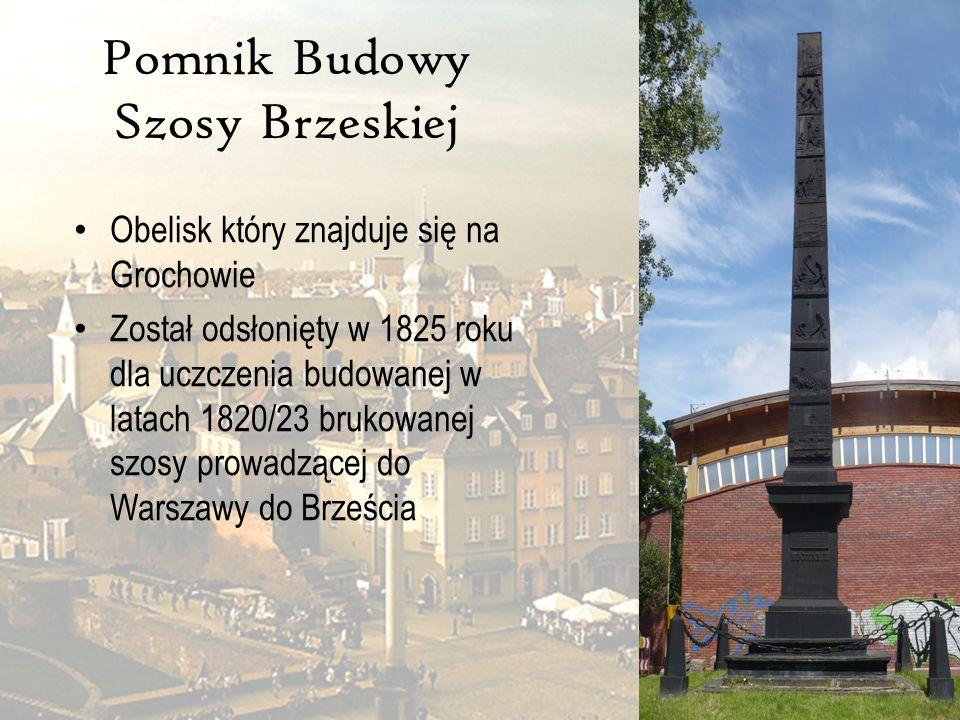 Pomnik Budowy Szosy Brzeskiej