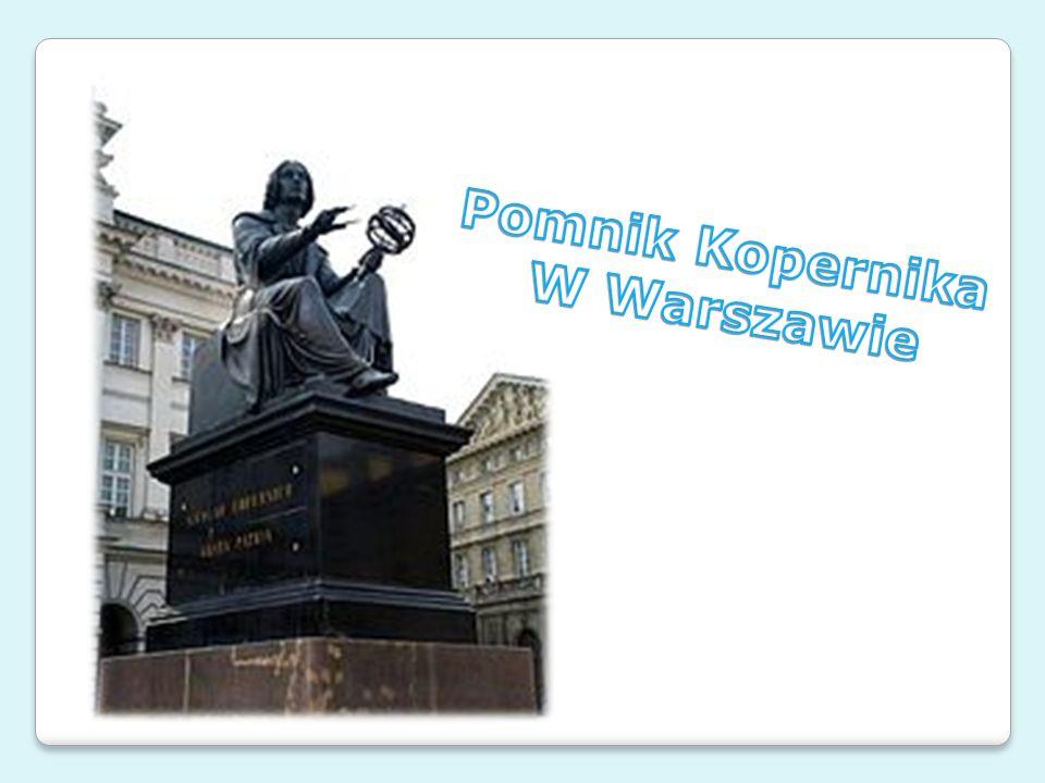 Pomnik Kopernika W Warszawie