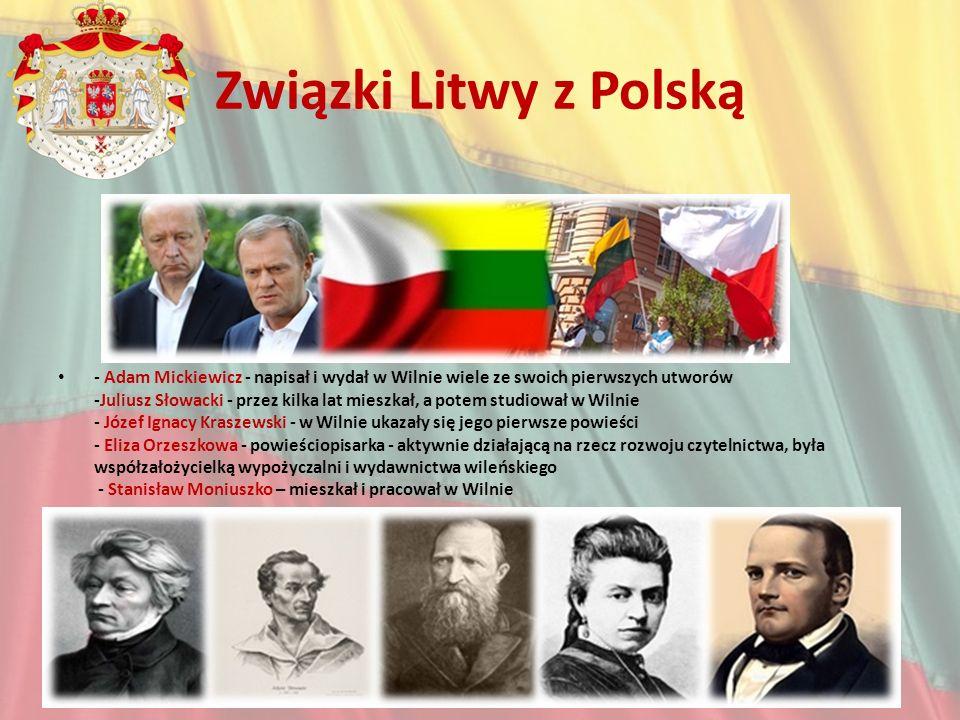 Związki Litwy z Polską