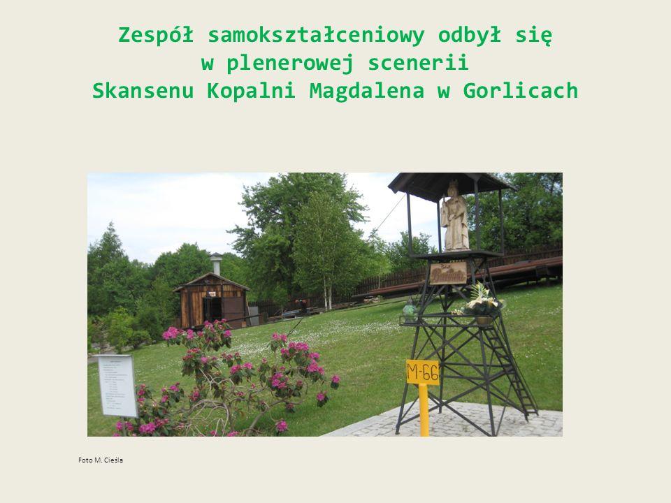 Zespół samokształceniowy odbył się w plenerowej scenerii Skansenu Kopalni Magdalena w Gorlicach