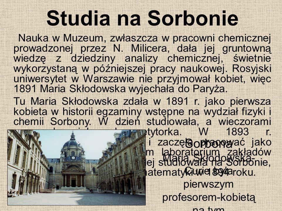Studia na Sorbonie Sorbona