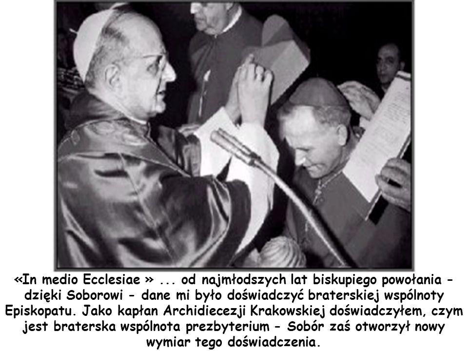 «In medio Ecclesiae » ...