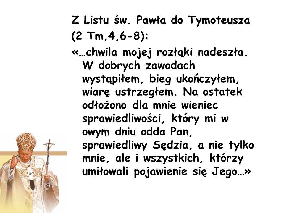 Z Listu św. Pawła do Tymoteusza