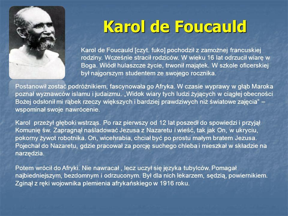 Karol de Foucauld