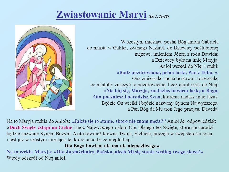 Zwiastowanie Maryi (Łk 1, 26-38)