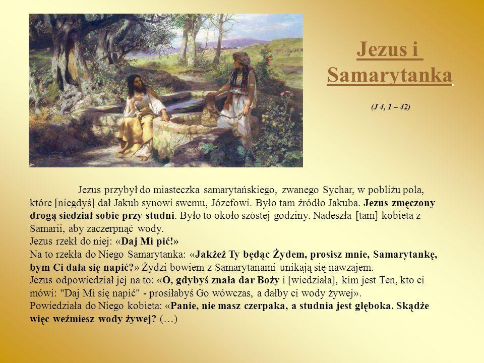 Jezus i Samarytanka. (J 4, 1 – 42)