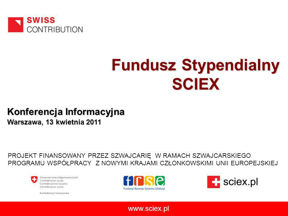 Fundusz Stypendialny SCIEX