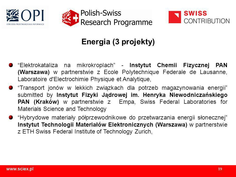 Energia (3 projekty)