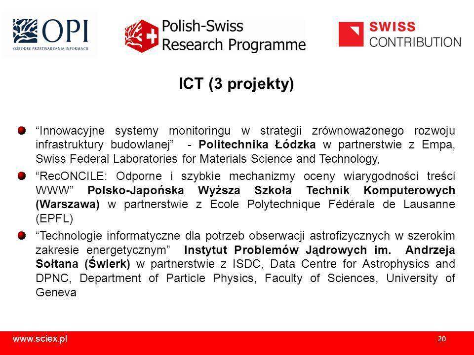 ICT (3 projekty)