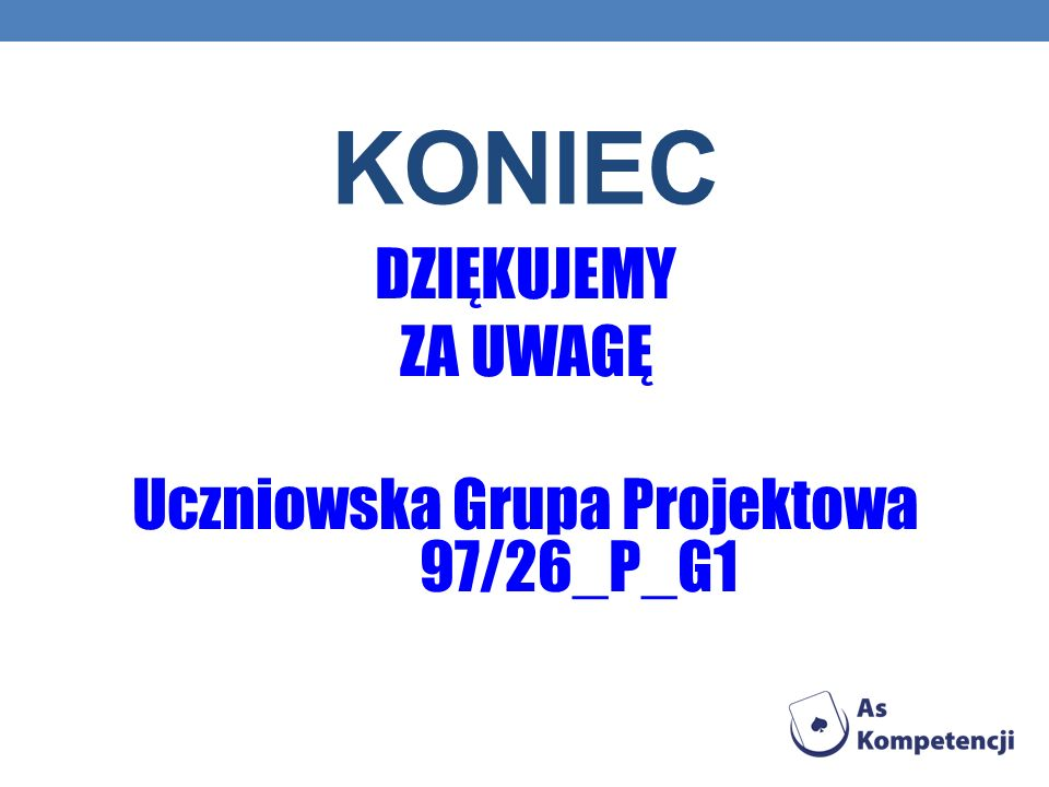 Uczniowska Grupa Projektowa 97/26_P_G1