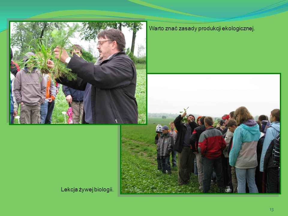 Warto znać zasady produkcji ekologicznej.