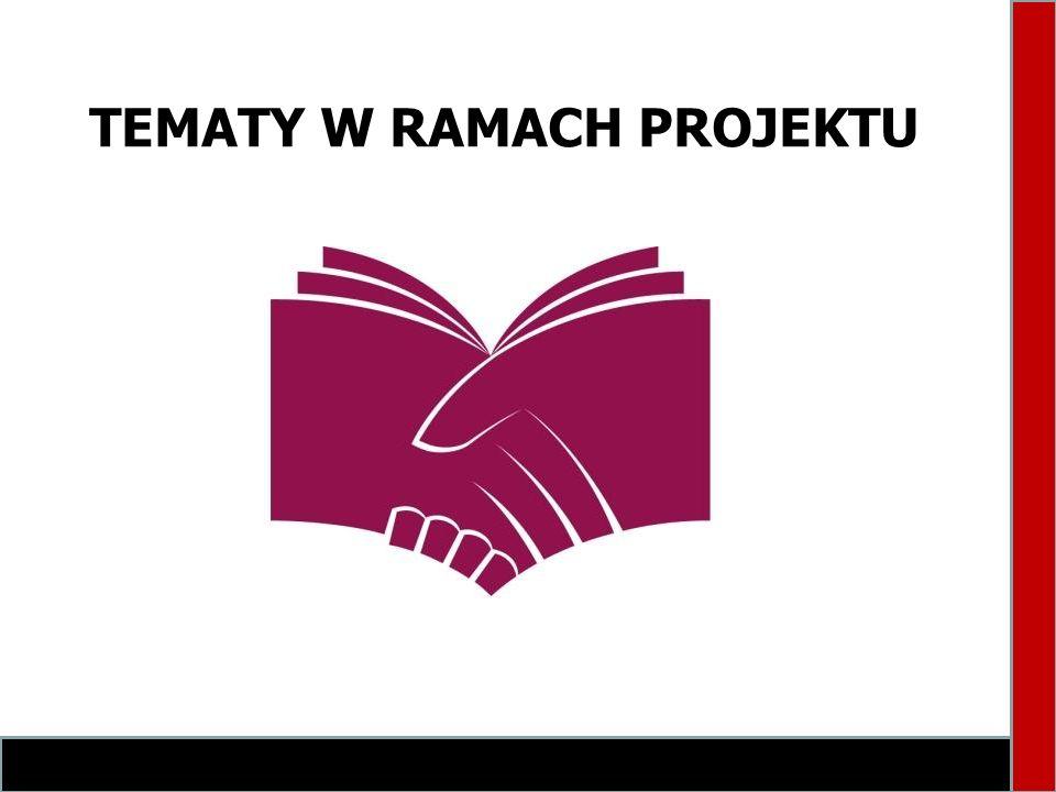 TEMATY W RAMACH PROJEKTU