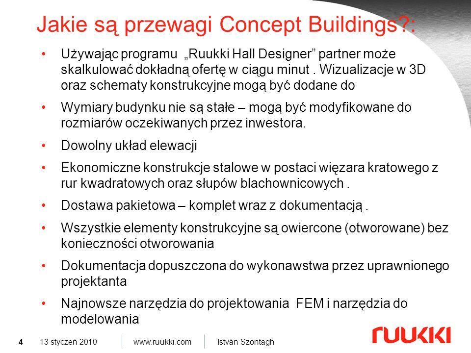 Jakie są przewagi Concept Buildings :