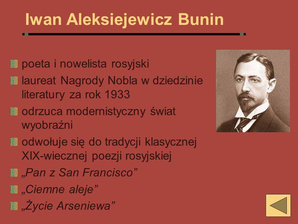 Iwan Aleksiejewicz Bunin