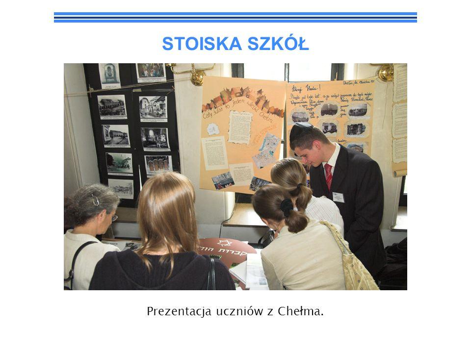 Prezentacja uczniów z Chełma.