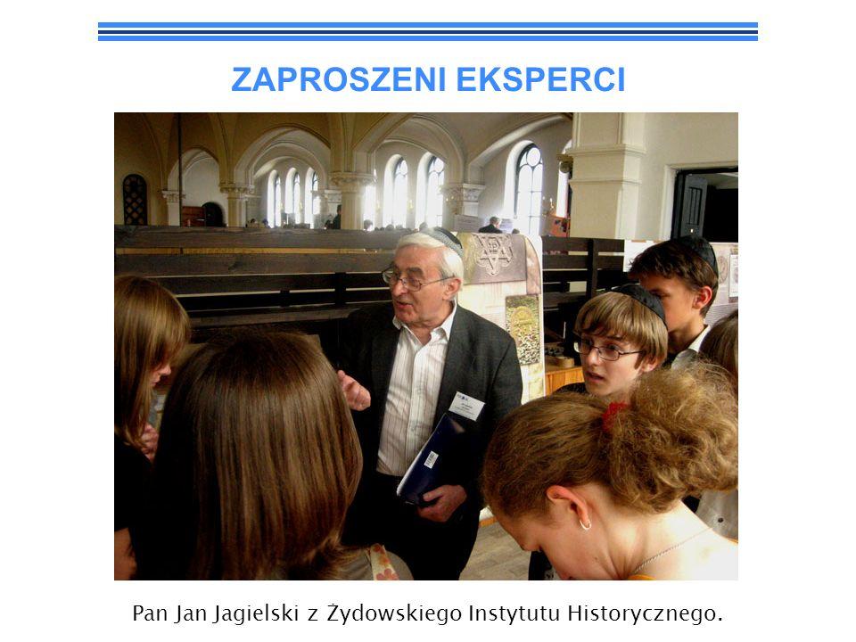 Pan Jan Jagielski z Żydowskiego Instytutu Historycznego.