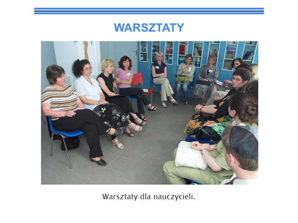 Warsztaty dla nauczycieli.