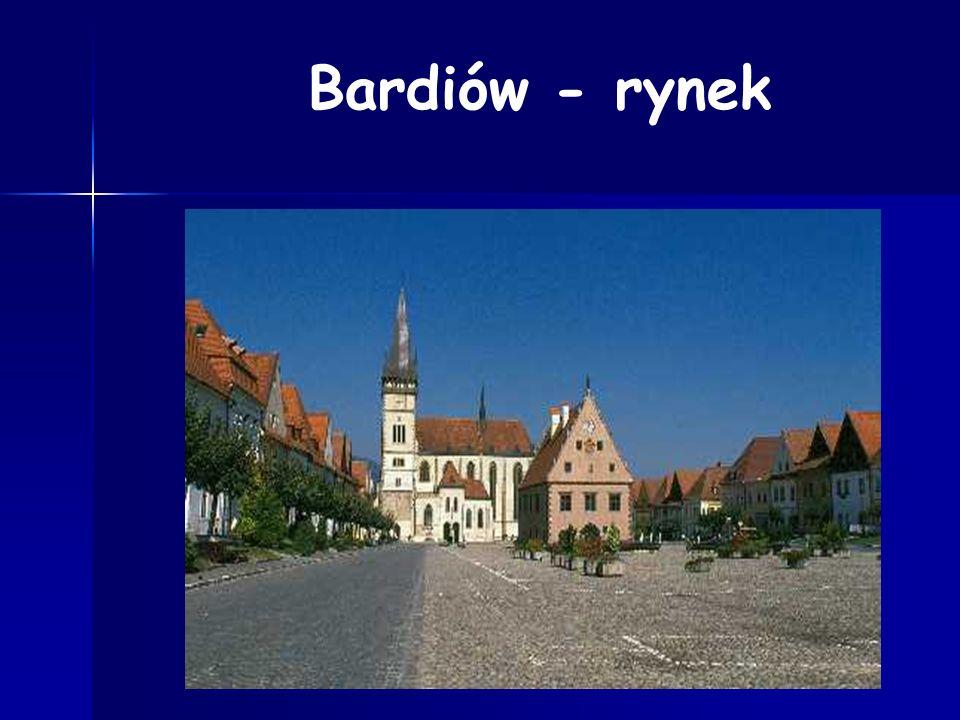 Bardiów - rynek