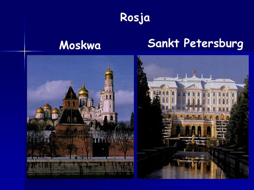 Rosja Sankt Petersburg Moskwa