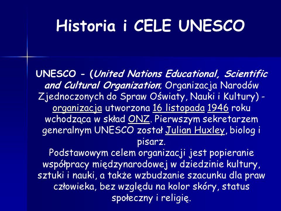Historia i CELE UNESCO