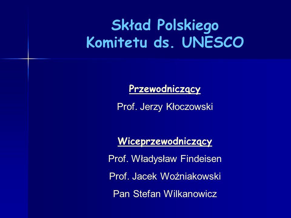 Skład Polskiego Komitetu ds. UNESCO