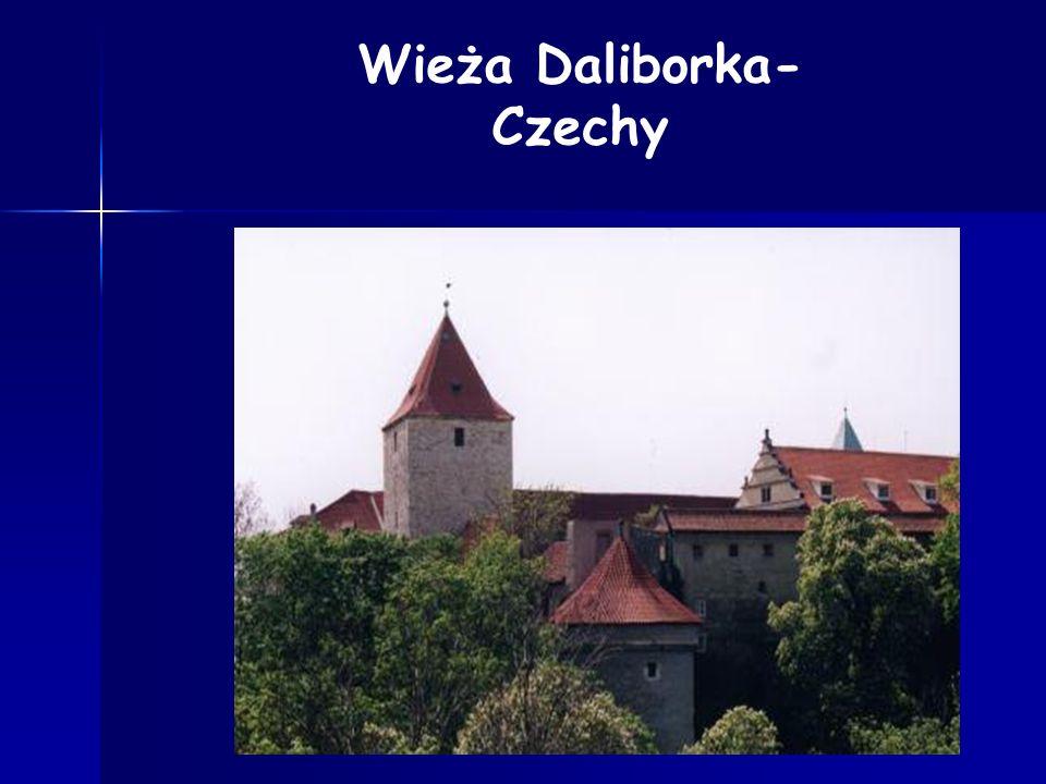 Wieża Daliborka-Czechy
