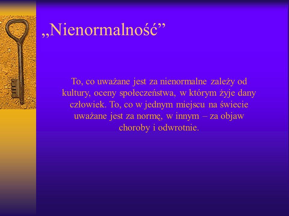 """Nienormalność"