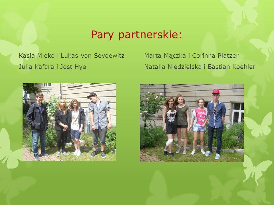 Pary partnerskie: Kasia Mleko i Lukas von Seydewitz