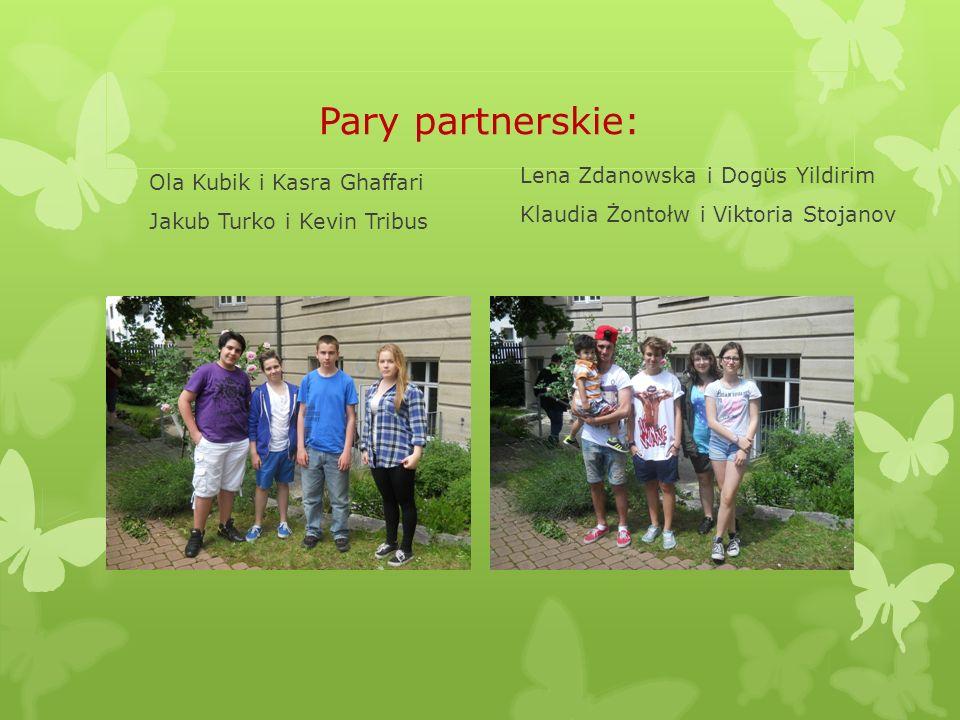 Pary partnerskie: Lena Zdanowska i Dogüs Yildirim
