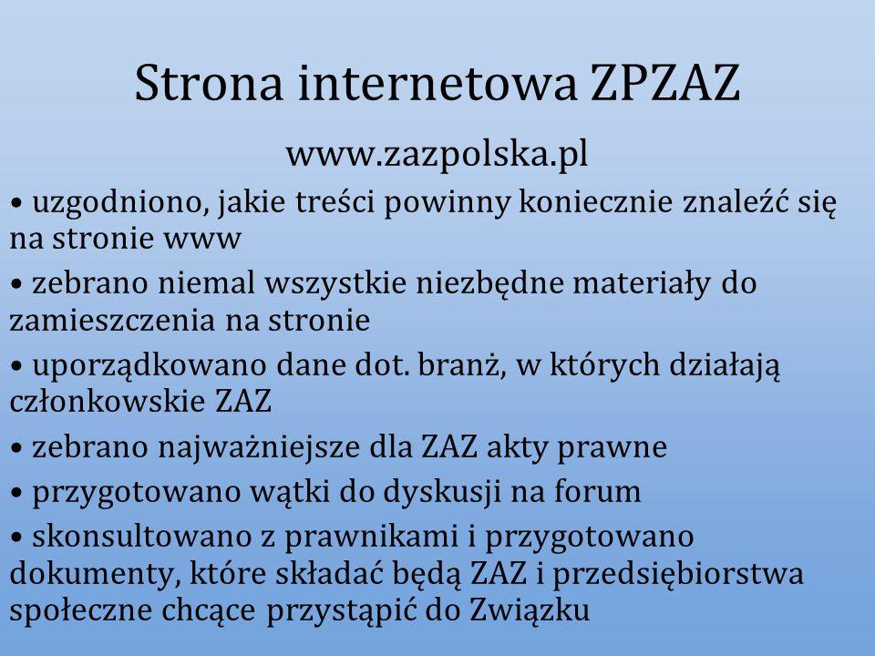 Strona internetowa ZPZAZ