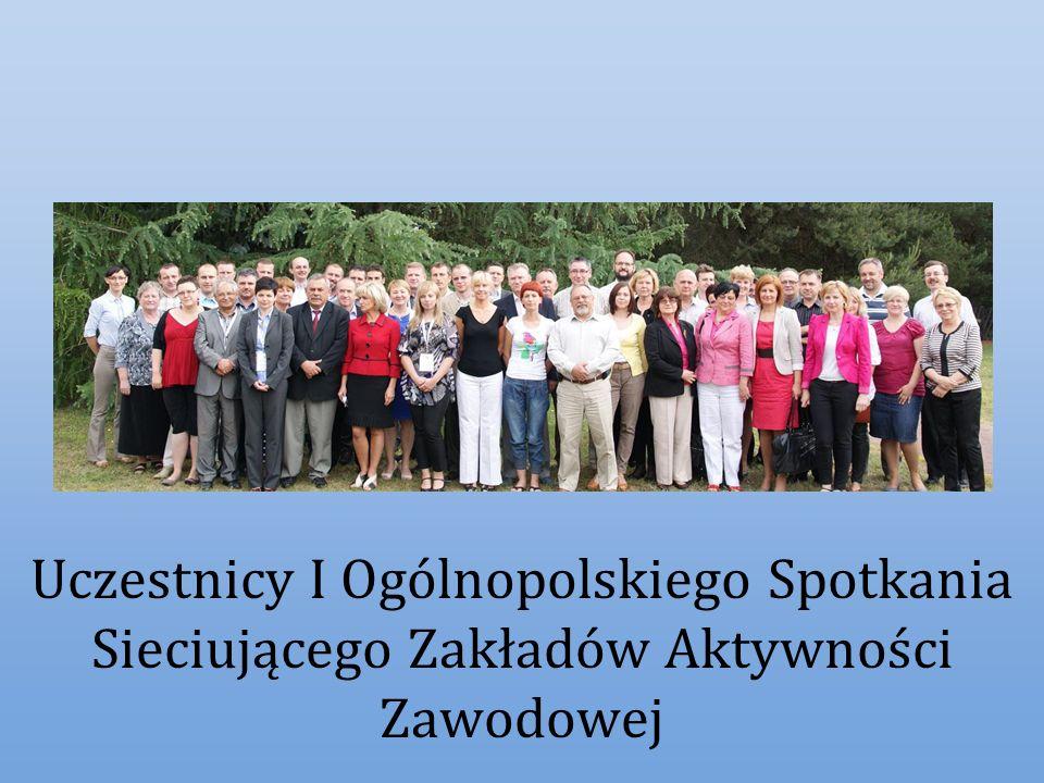 Uczestnicy I Ogólnopolskiego Spotkania Sieciującego Zakładów Aktywności Zawodowej