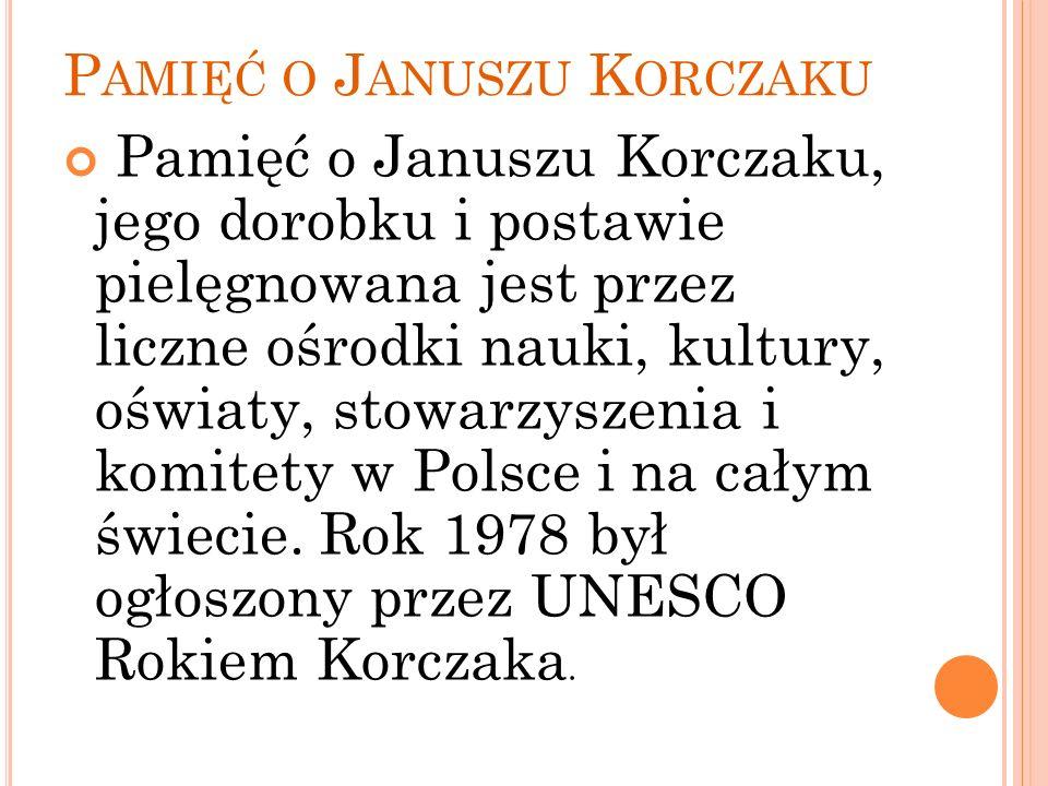 Pamięć o Januszu Korczaku