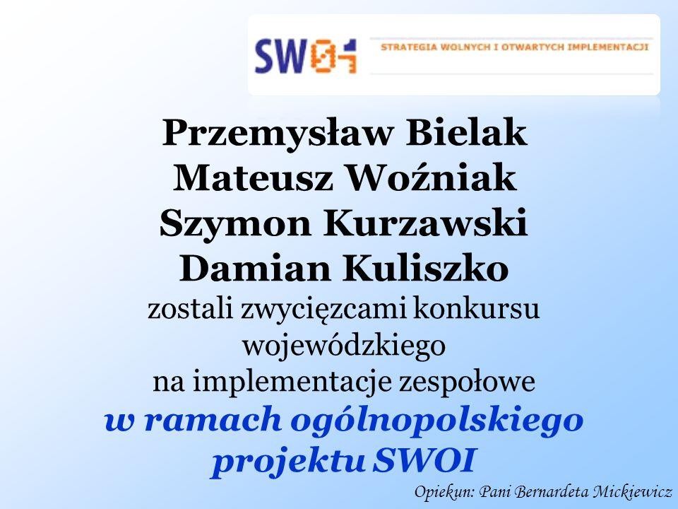 w ramach ogólnopolskiego projektu SWOI