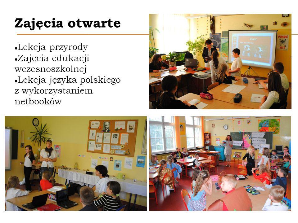 Zajęcia otwarte Lekcja przyrody Zajęcia edukacji wczesnoszkolnej