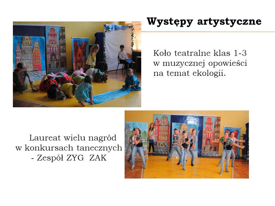 Laureat wielu nagród w konkursach tanecznych - Zespół ZYG ZAK